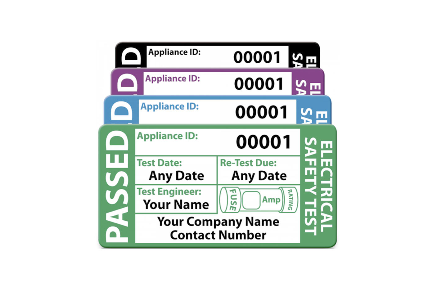 Electrical Testing Labels